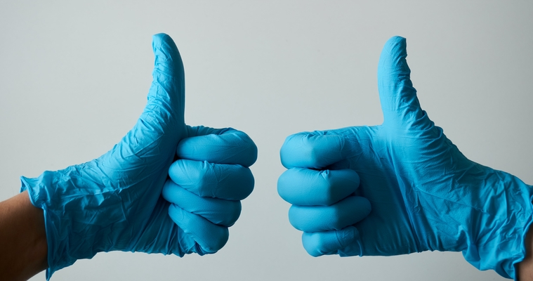 thumbs up after covid?