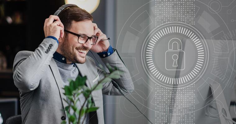 secure online meetings with eyeson