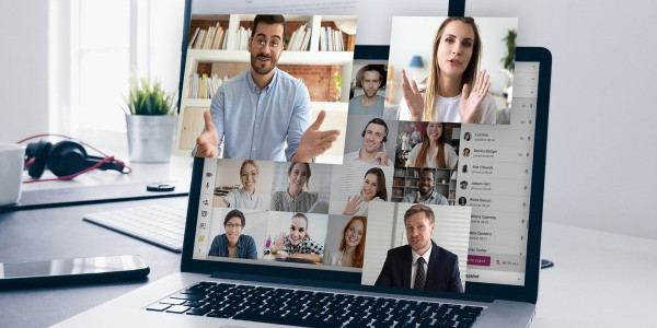 auto-moderated video conferencing based on intelligent activity tracking